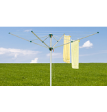 Juwel Droogmolen Comfortplus 600 - 52,1 meter - met grondanker en beschermhoes