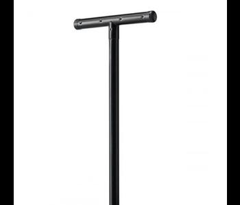 Betafence Waslijnpaal - 2 stuks - Zwart -  (H)245 x (B)60 cm