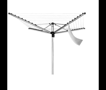 Leifheit Linomatic 400 Premium droogmolen - antraciet -  incl. Gratis wasknijpers en bodemhuls - 40 m