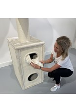 Cat Tower Box Creme (RHR0413)