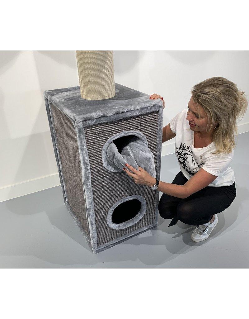Cat Tower Box Light Grey (RHR0414)