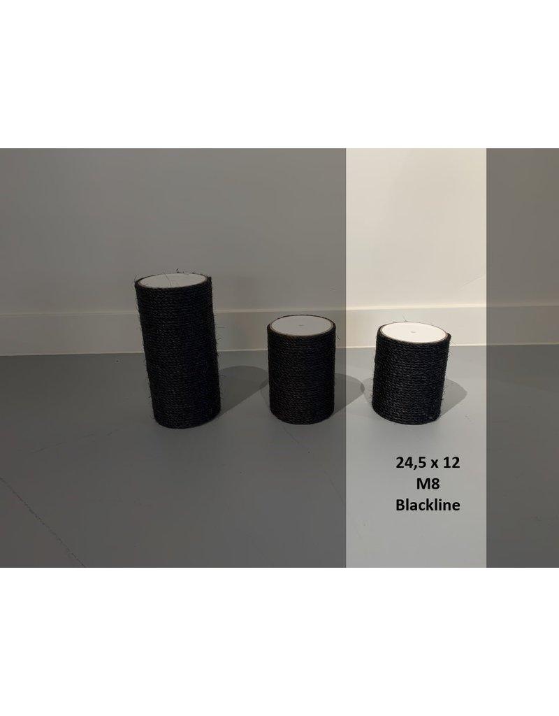 24.5x12 Blackline M8