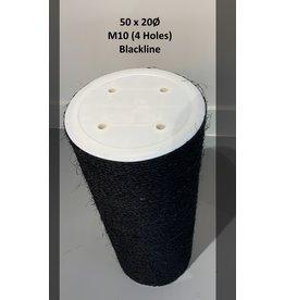 50x20 Blackline 4 Screws M10