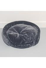 Ligzetel Chartreux Ø60 + Kussen Dark Grey