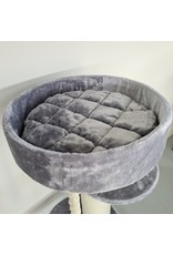 Maine Coon Sleeper de Luxe Light Grey (RHR0464-LUX)