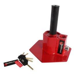 DoubleLock Kingpin Lock RED SCM