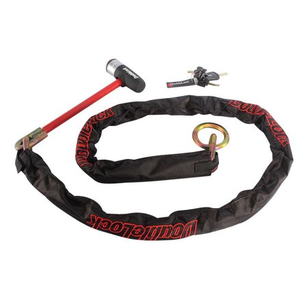 DoubleLock Loop kettingslot 200cm SCM
