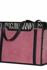 Audrey roze met zebra