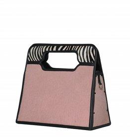 Brigitte licht roze/zebra