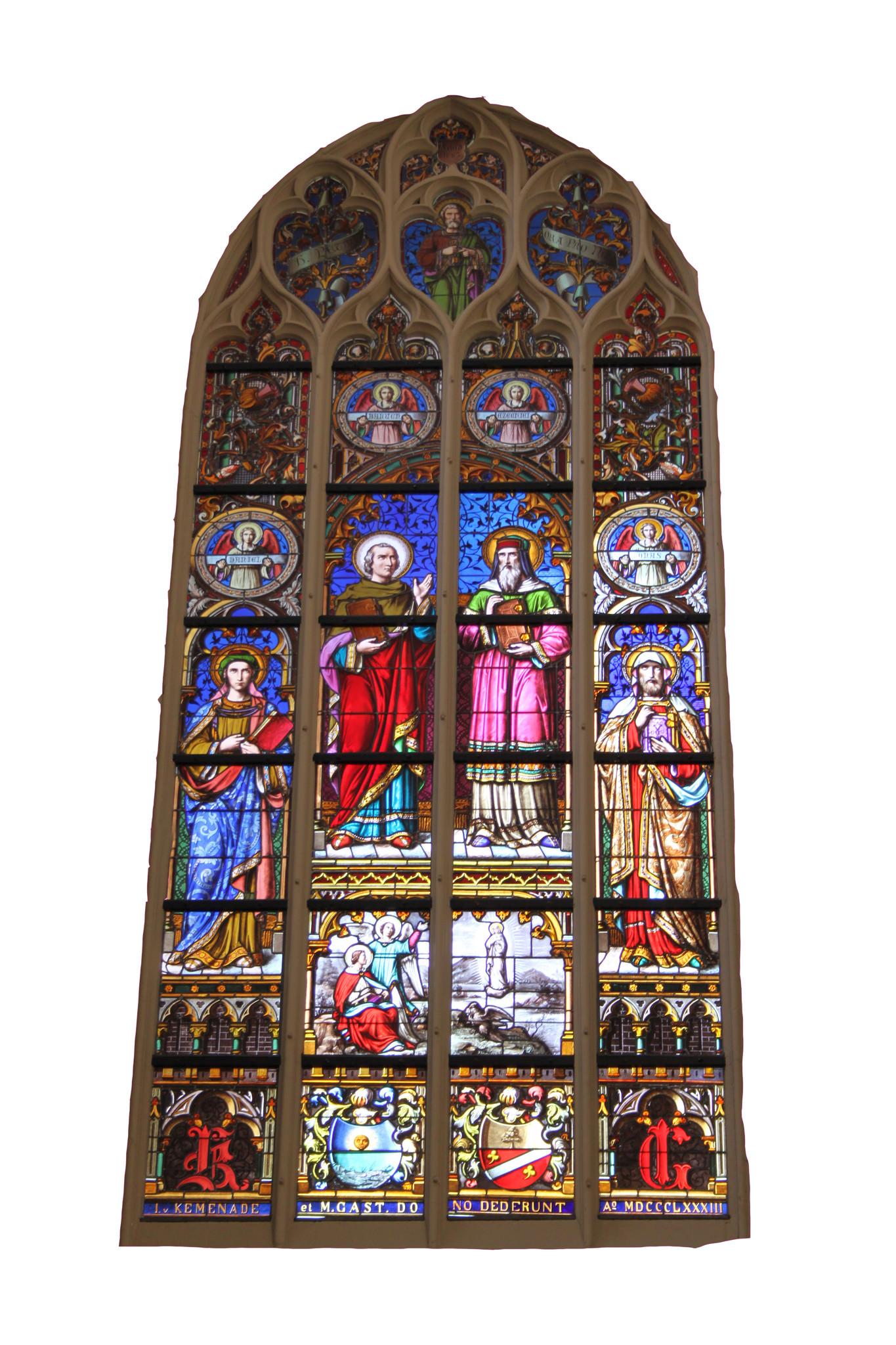Brigitte fotoart van kerk s'hertogenbosch