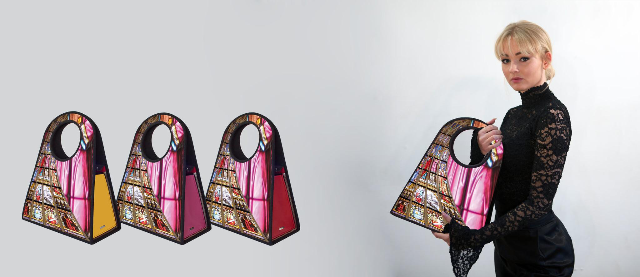 Manichel modulaire tas, Elizabeth met fotoart
