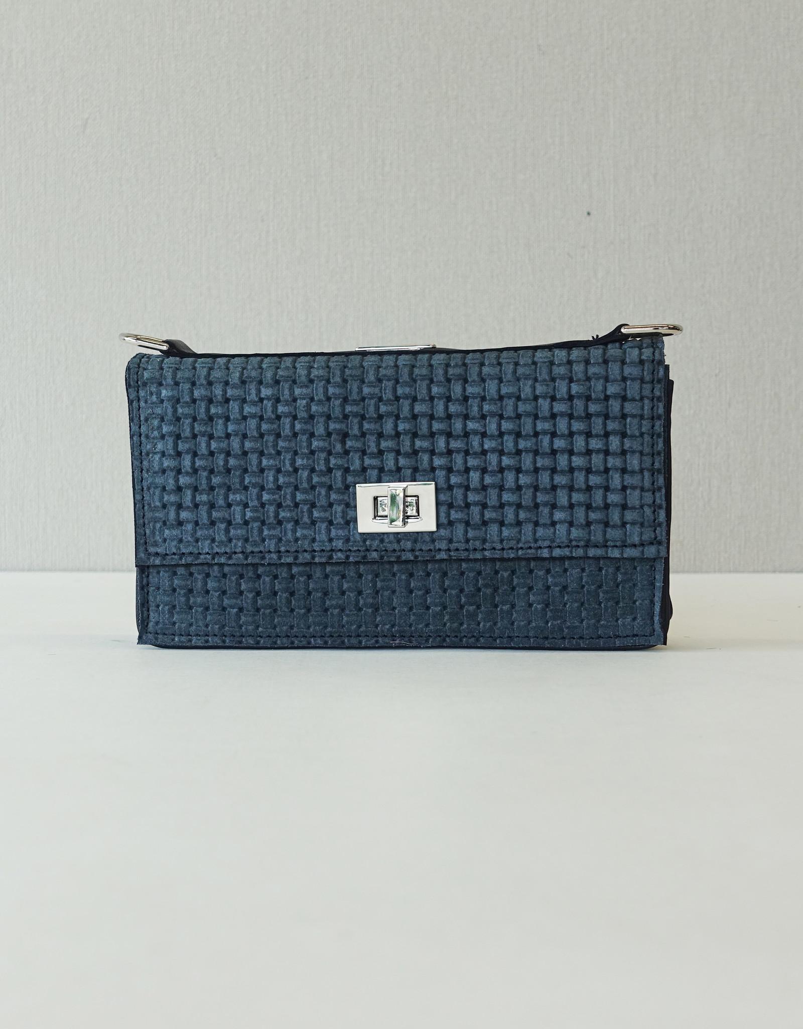 Iris, bleu suede