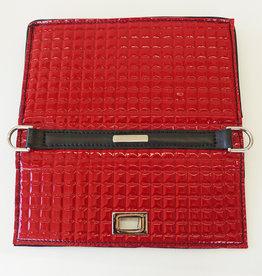 Iris, red patent