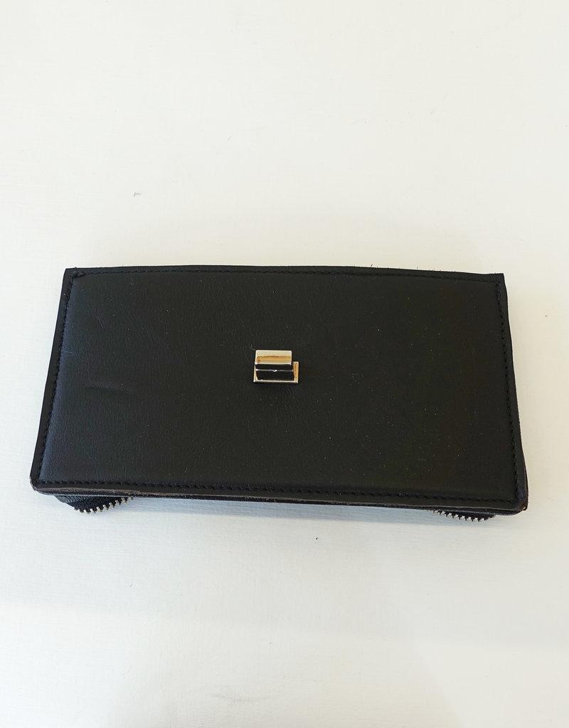 Iris 2, black leather