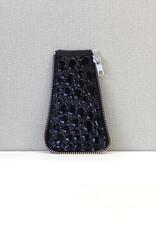 Zijkant maat 3, zwart lak bobbel