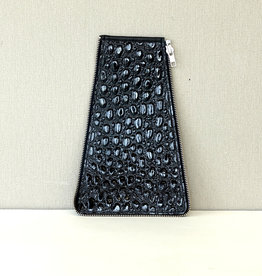 Zijkant maat1, zwart lak bobbel