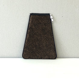 Zijkant maat 2, bruin stip