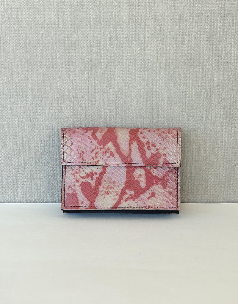 Binnenzak klein/roze print