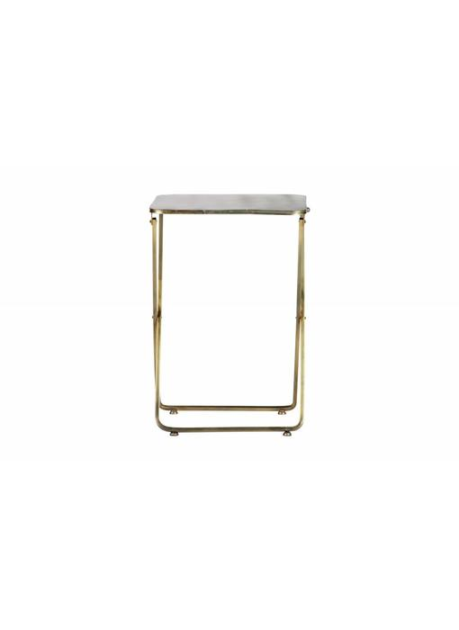 Be Pure Home Foldaway Bijzettafel Metaal Antique Brass