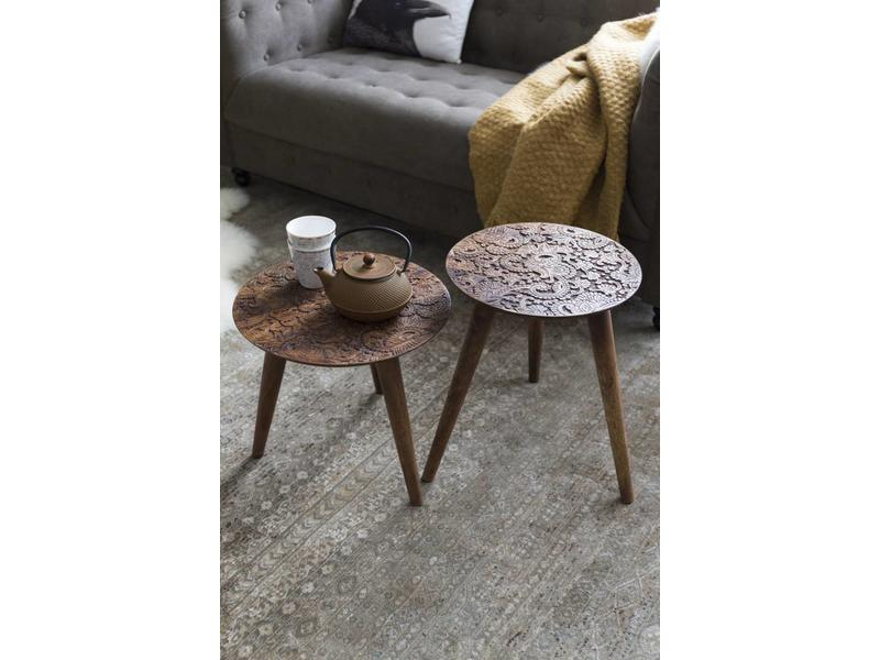 Dutchbone SIDE TABLE BY HAND