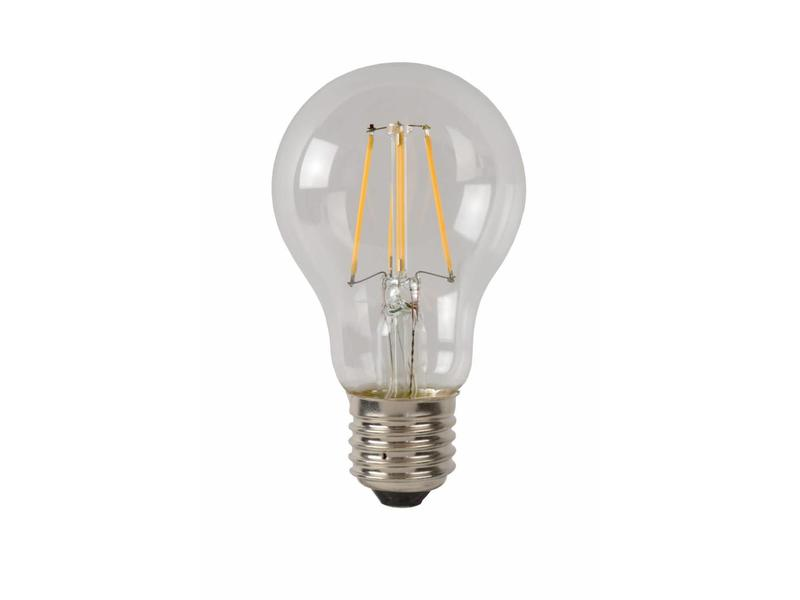 Lucide LED BULB- Filament lamp- diam. 6 cm- LED Dimb.- 1x5W 2700K- Transparant