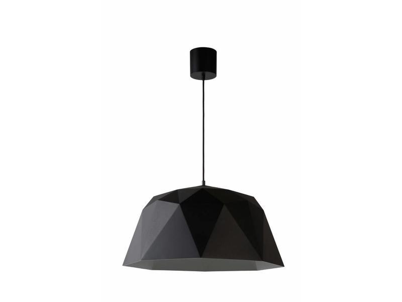 Lucide Geometry Hanglamp- diam. 60 cm- Zwart