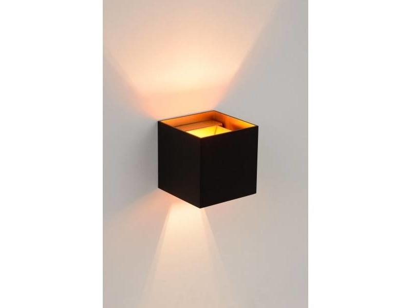 Lucide XIO- Wandlamp- LED Dimb.- G9- 1x4W 2700K- vierkant-