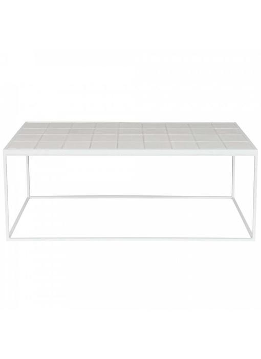 Zuiver Coffee table glazed zuiver white