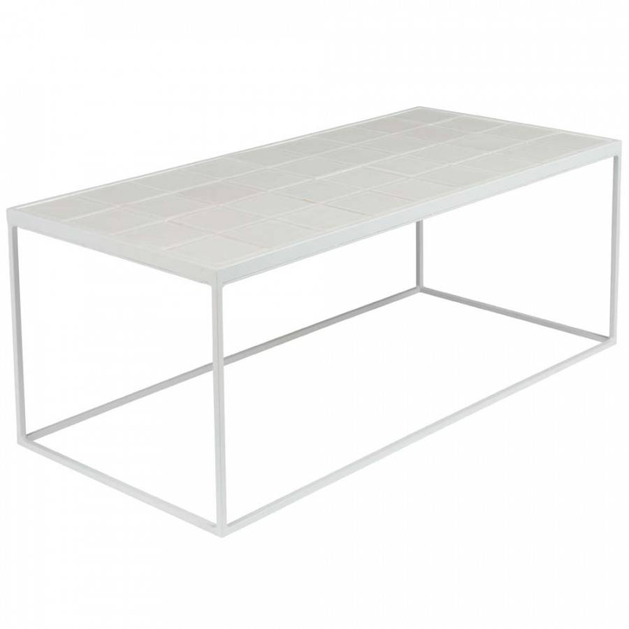 Terrific Coffee Table Glazed Zuiver White Dotshop Caraccident5 Cool Chair Designs And Ideas Caraccident5Info