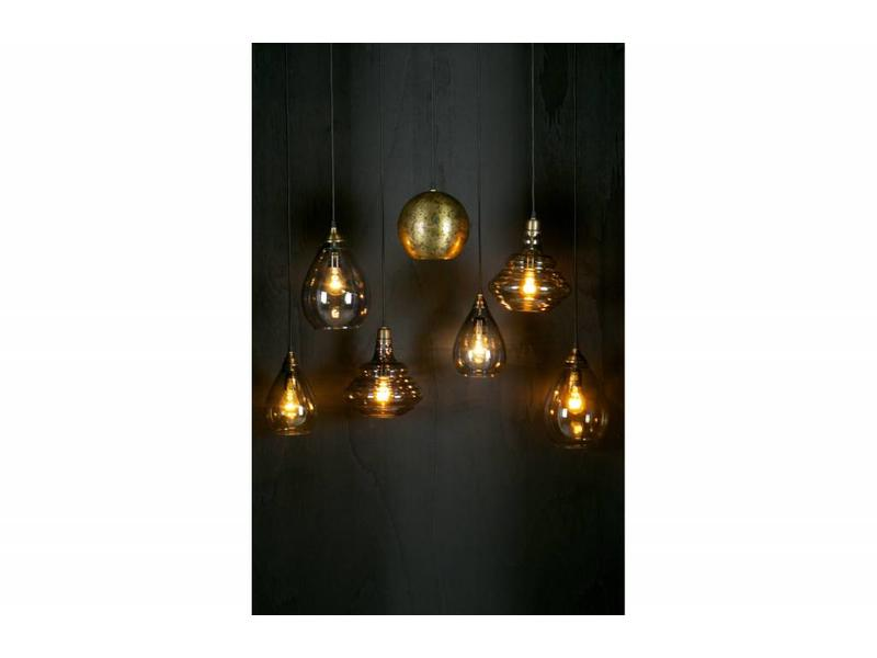Be Pure Home Pure Vintage Hanglamp Glas Antique Brass