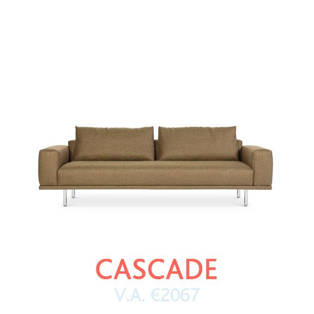 Bank Cascade van Design On Stock beschikbaar bij DOTshop, live te zien in Amsterdam en Haarlem