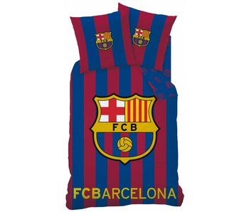 FC Barcelona Dekbedovertrek Logo 140x200 + 63x63 cm