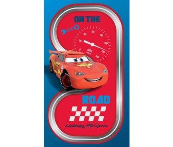 Disney Cars plage de route serviette 70x120 cm
