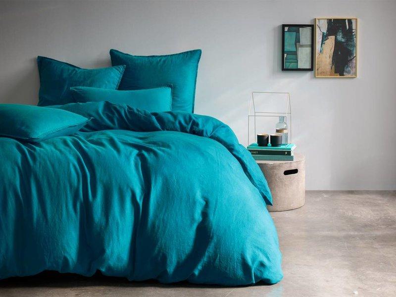"""Matt & Rose Duvet Métis Lin Blue """"Canard"""" 240x220cm"""