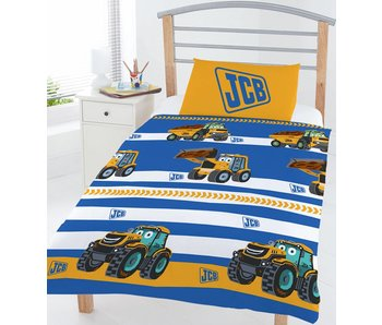 JCB Junior duvet cover 120x150cm + 42x62cm Poly Cotton