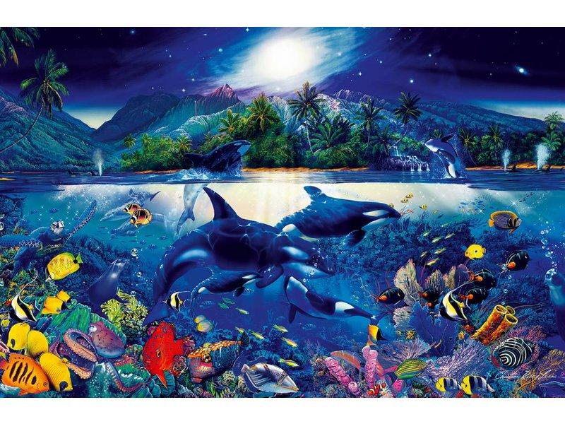 Fotobehang Majestic Kingdom - Poster XXL - 175 x 115 cm - Multi