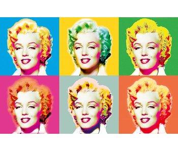 Fotobehang Poster XXL Visions of Marilyn 175x115 cm