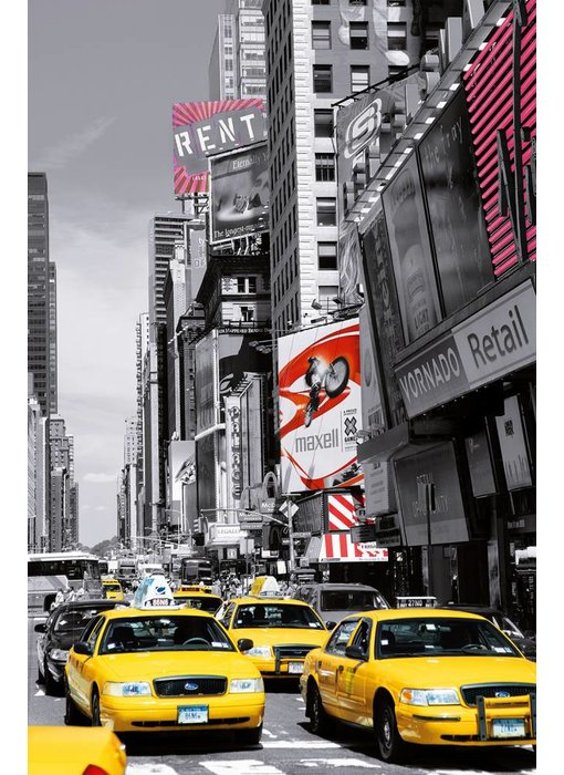 Fotobehang Poster XXL Times four-sided II 115x175 cm