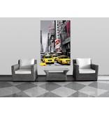 Fotobehang Times Square - Poster XXL - 115 x 175 cm - Multi