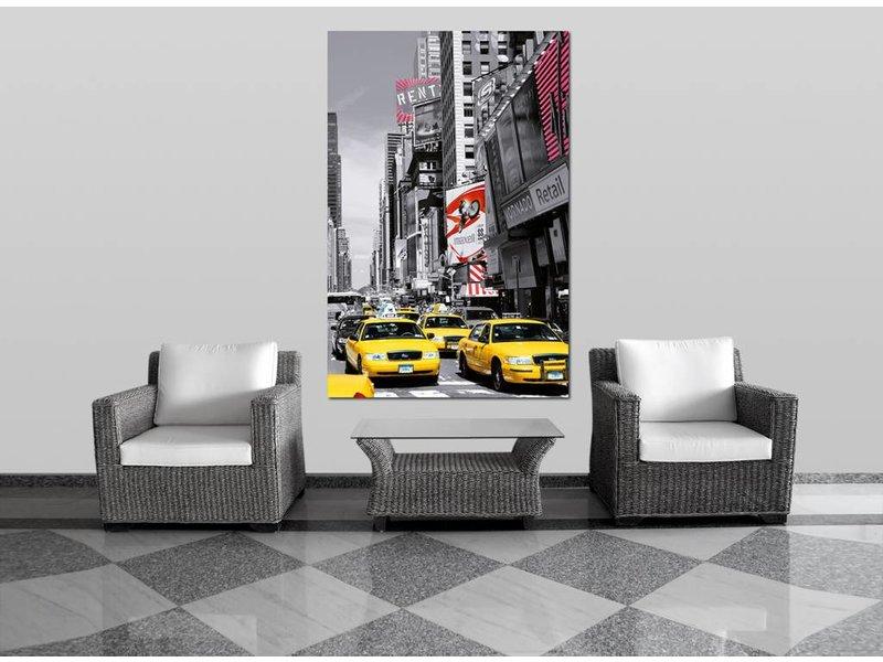 Fotobehang New York Times Square - Poster XXL - 115 x 175 cm - Multi