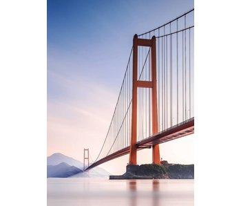 Fotobehang Xihou Bridge 183x254 cm