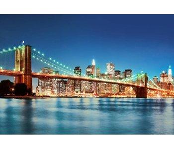 Fotobehang New York East River 366x254 cm de
