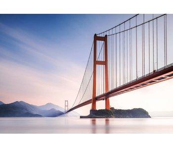 Fotobehang Xihou Bridge 366x254 cm