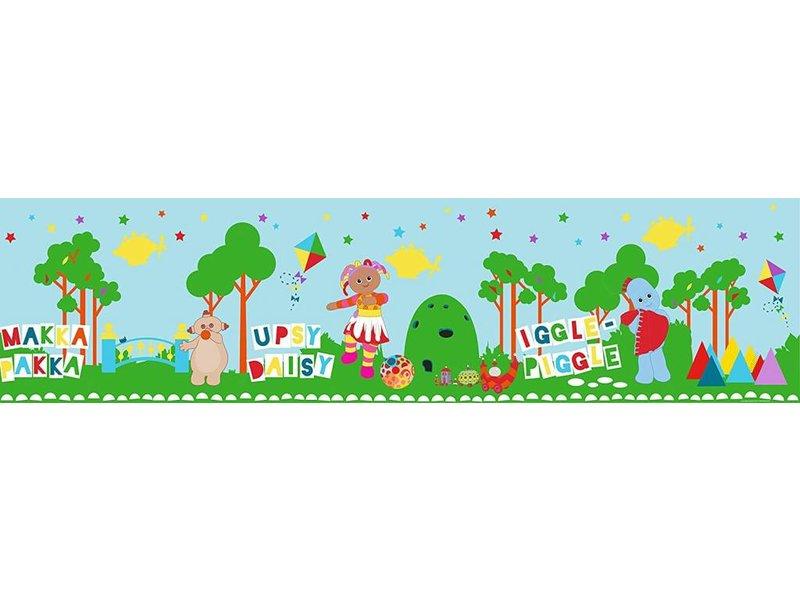 In de droomtuin - Wallpaper Border - 5 Meter / 15,6 cm - Multicolor