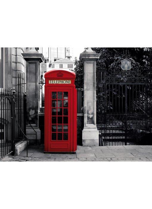 Londen Mural London Phone
