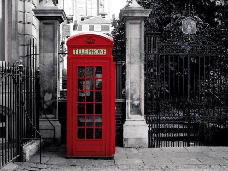 Londen Murale London Téléphone 232 x 315 cm