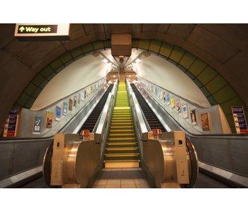 Londen Fotobehang Subway