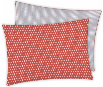 Matt & Rose Cushion Esprit Geometrique Brique Decoration 50 x 70 cm