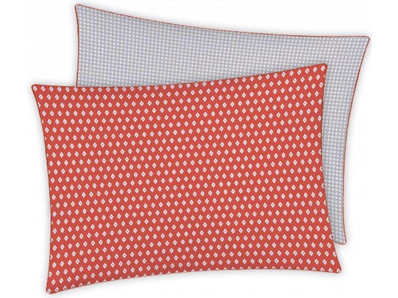 Matt & Rose Esprit Geometrique Brique - Decoratie Kussensloop - 50 x 70 cm - Multi