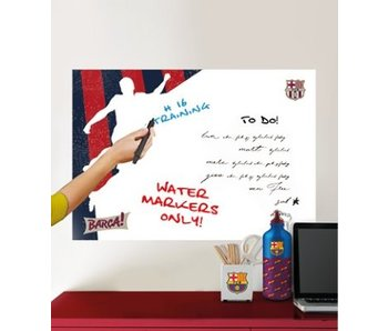 FC Barcelona muursticker White Board player 45x65cm